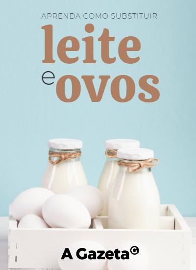 Ovos e leites estão presentes em várias das receitas favoritas dos brasileiros, como bolos, tortas e sobremesas. A boa notícia é que dá pra se virar bem sem eles. Aprenda como.