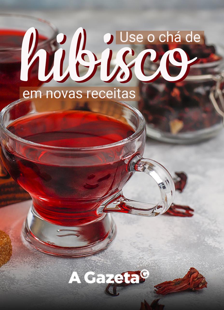 Aprenda novas maneiras de usar o chá de hibisco.