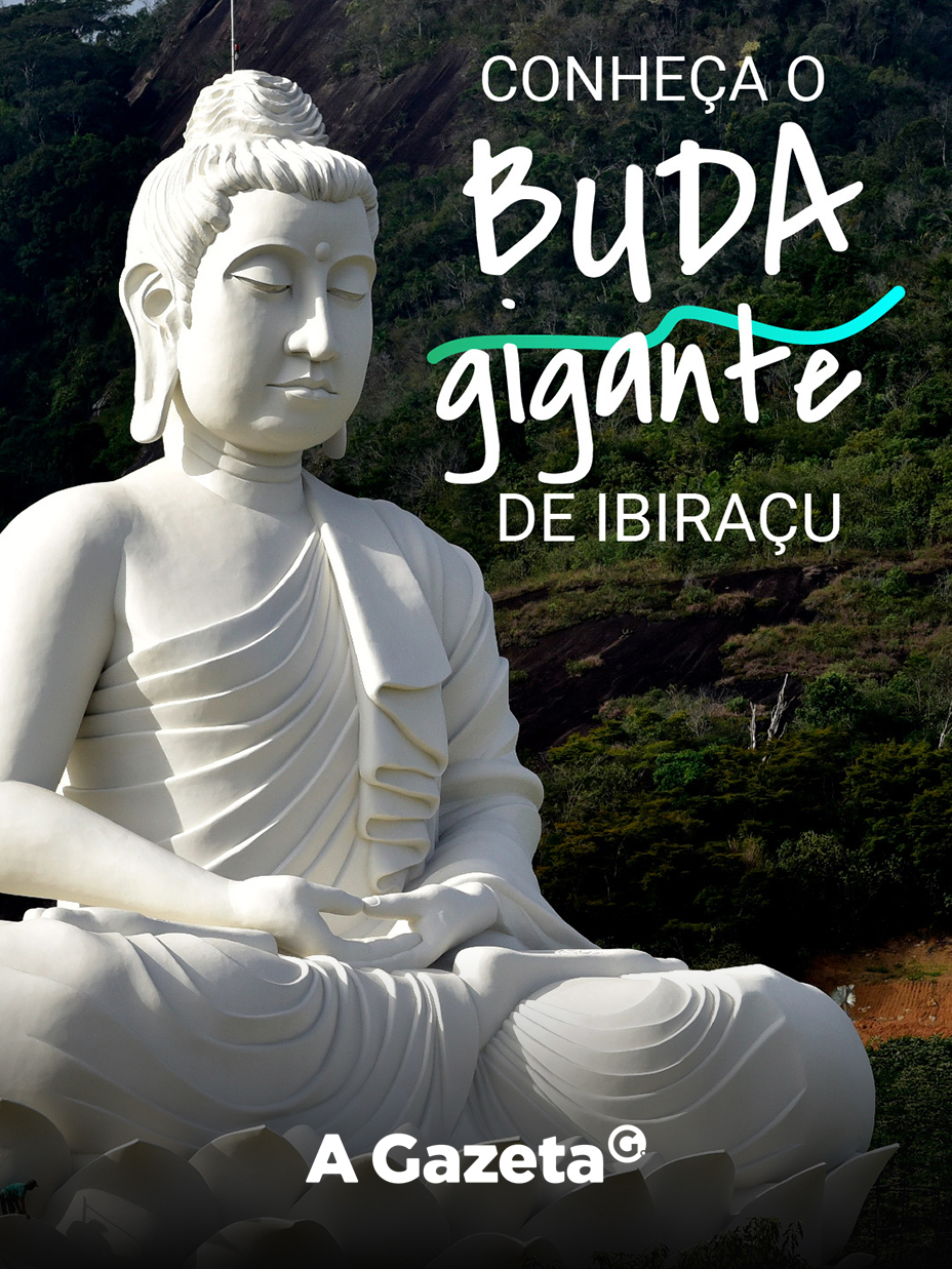 A estátua do Buda gigante, localizada em Ibiraçu, ficou pronta e o local já está aberto a visitação. Conheça os detalhes sobre o mais novo ponto turístico do Espírito Santo.